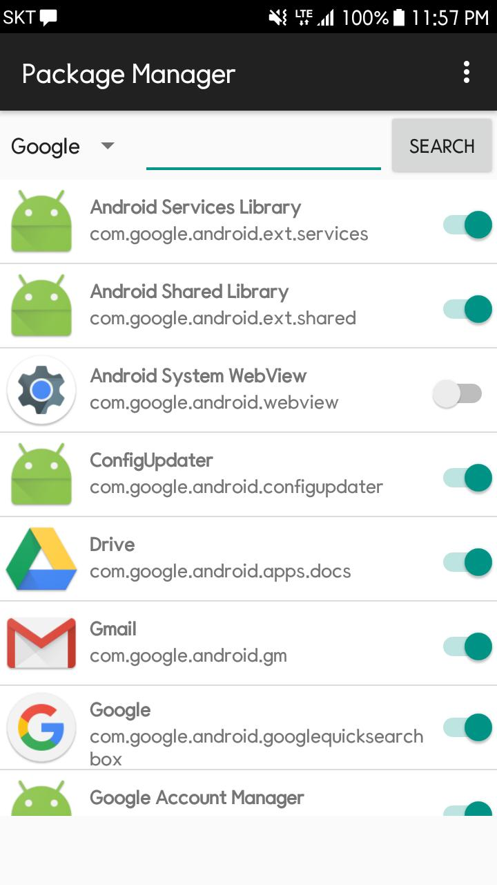 Disable Service(no root) for Android - APK Download