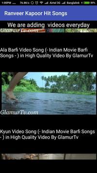 Ranbeer Kapoor Hit Songs poster