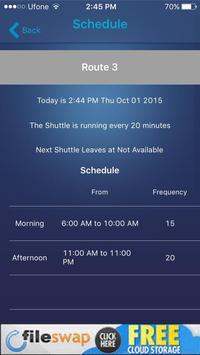 Shuttle Tracker ETS apk screenshot