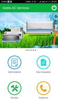 Geeta AC Services screenshot 1