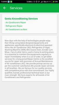 Geeta AC Services screenshot 5