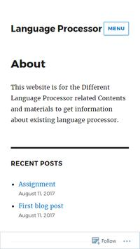 Language Processor apk screenshot