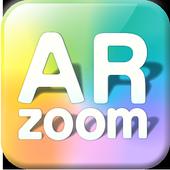 AR zoom icon