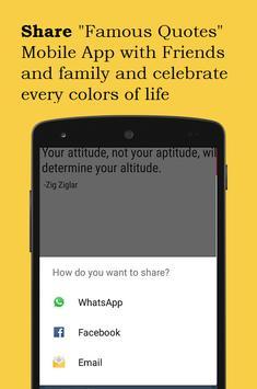 Famous Quotes apk screenshot