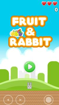Fruit And Rabbit poster