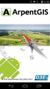 ArpentGIS Mobile poster