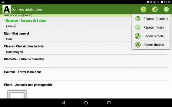 ArpentGIS Mobile apk screenshot