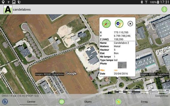 ArpentGIS screenshot 9