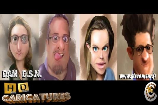 HD Caricatures poster