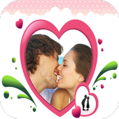 Lovely Romantic Photo Frames icon