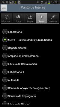 GuideURJC apk screenshot