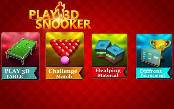 international Snooker pool 3D screenshot 1