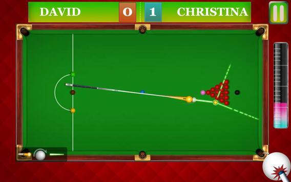 international Snooker pool 3D screenshot 3
