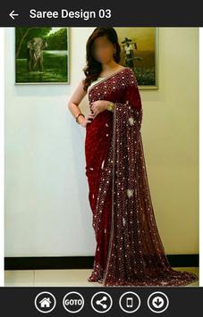 Indian Saree Designs 2017 screenshot 2