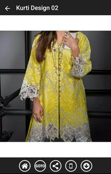 Stylish Kurti Designs 2017 poster