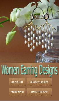 Women Earring Designs poster