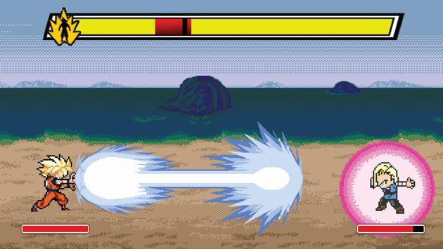 Mini Dragon Saiyan Warrior apk screenshot