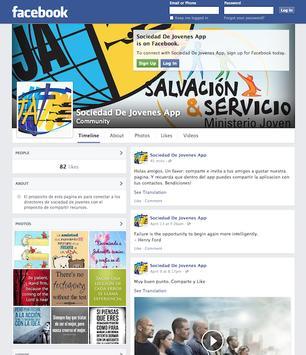 La Sociedad de Jovenes apk screenshot