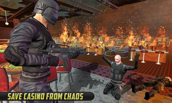 SWAT Team Strike Vegas Casino poster