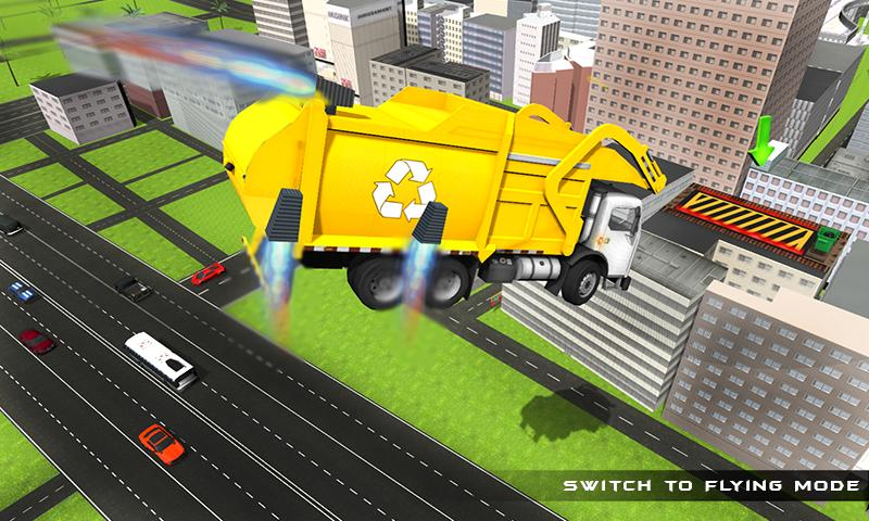 Flying Garbage Dump Truck for Android - APK Download