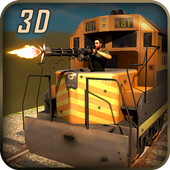 Gunship Battle Bullet Train 3D icon