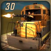 Gunship Battle Bullet Train 3D icon