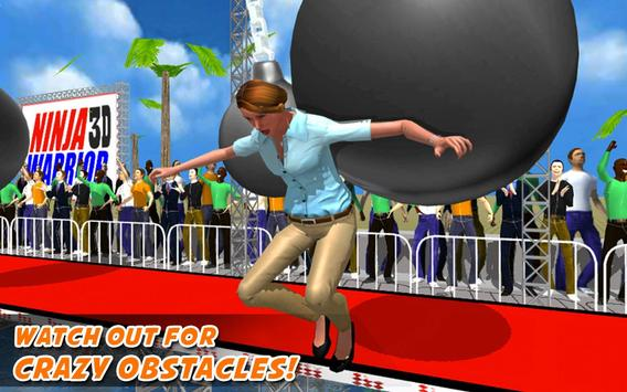 Real Ninja Warrior Amazing Run apk screenshot