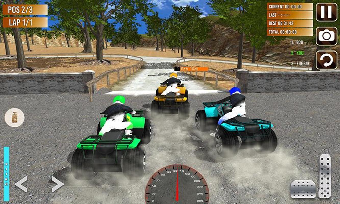 Quad Atv Rider Off Road Racing Hill Drive Screenshot 3
