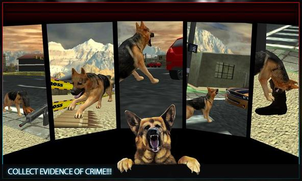 Town Police Dog Chase Crime 3D screenshot 1