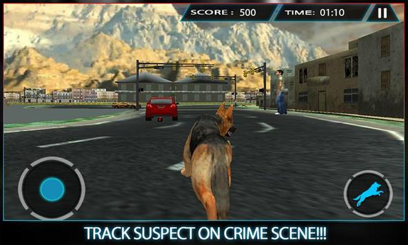 Town Police Dog Chase Crime 3D screenshot 2
