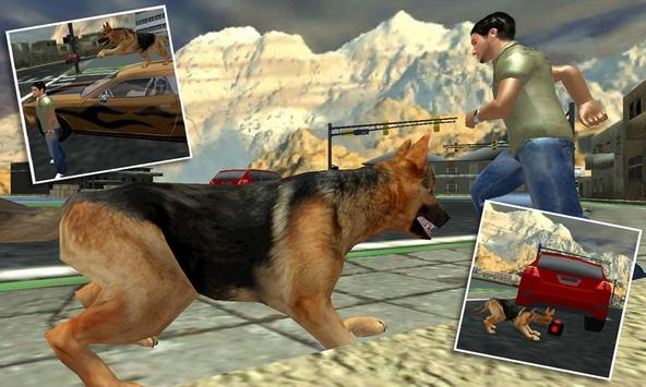 Town Police Dog Chase Crime 3D screenshot 3