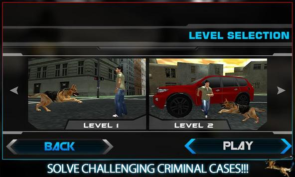Town Police Dog Chase Crime 3D screenshot 4