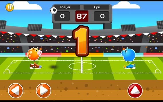 Pet Soccer screenshot 1