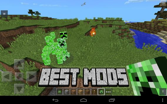 Best Mods for Minecraft PE poster