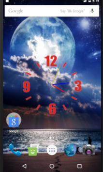 Moonnight Liveclock WP poster