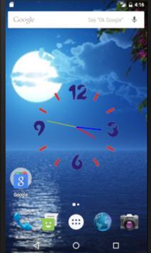 Moonnight Liveclock WP screenshot 1