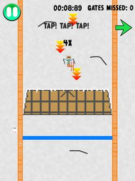 Pixel Skier apk screenshot