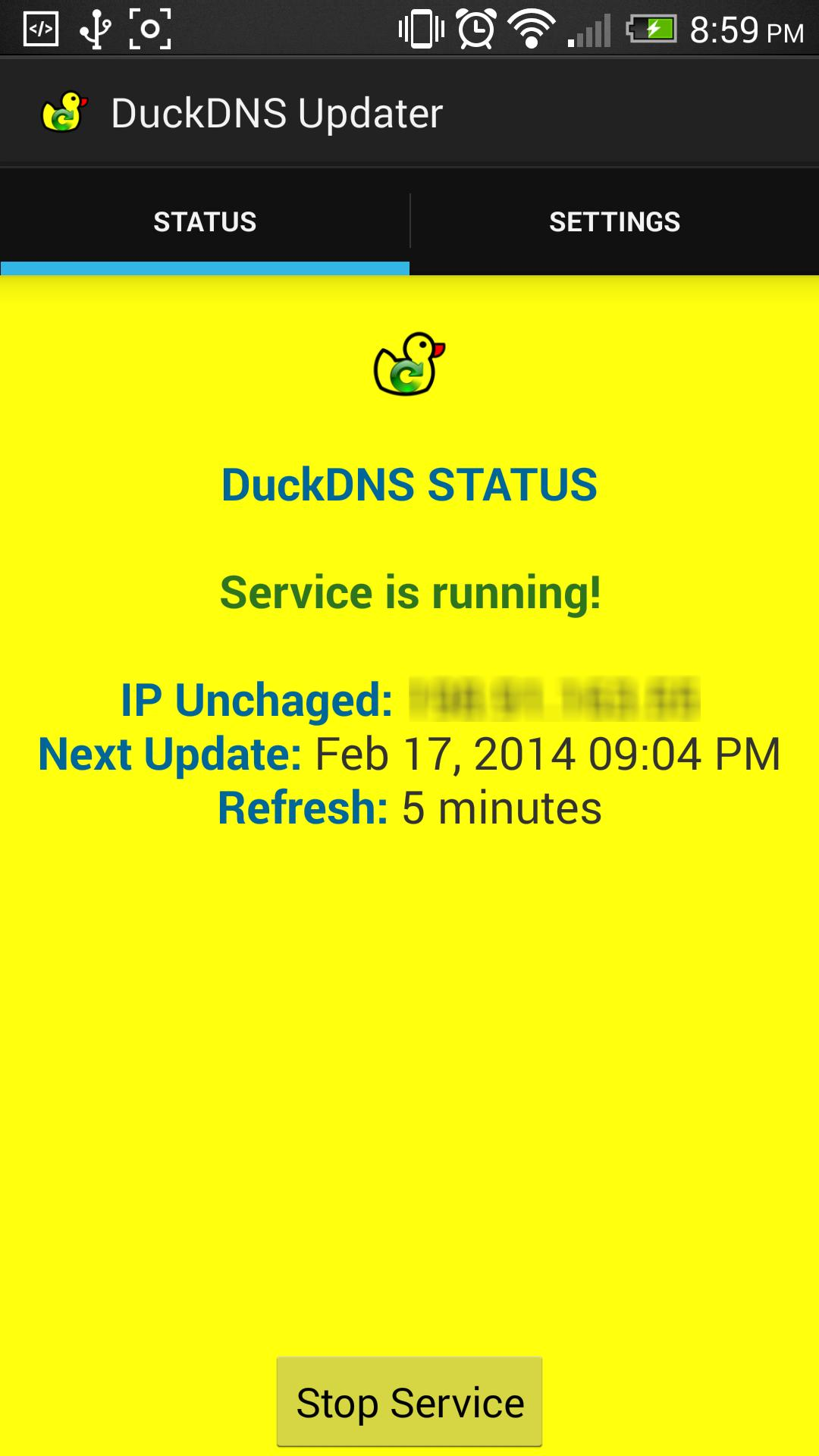 Official DuckDNS Client (Dynamic DNS) for Android - APK Download