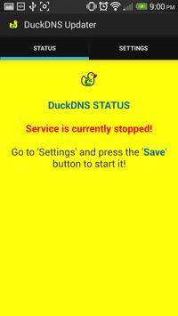 Official DuckDNS Client (Dynamic DNS) apk screenshot