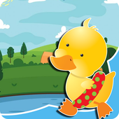 duck games for free for kids icon