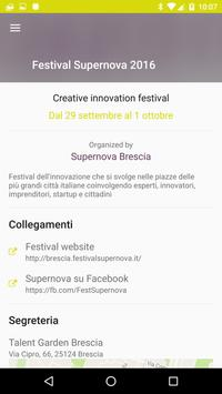 Supernova - Festival Brescia screenshot 3