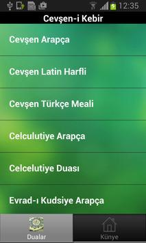 Cevşen-i Kebir Free apk screenshot