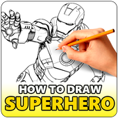 How to Draw SuperHeroes icon