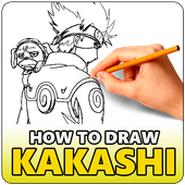 How To Draw Kakashi Characters icon