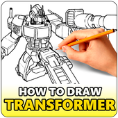 How To Draw Transformer icon