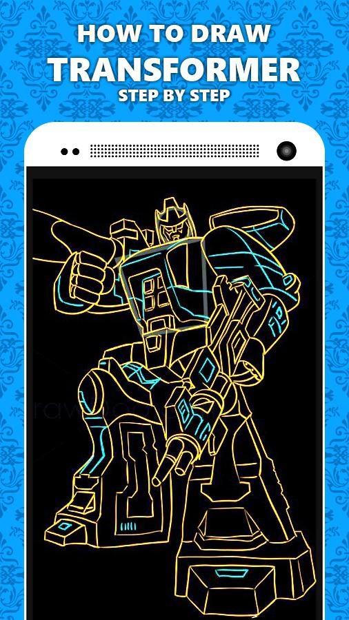 How To Draw Transformer poster