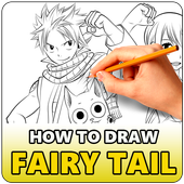 How to Draw Fairy Tail - Easy icon