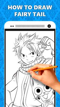 How to Draw Fairy Tail - Easy apk screenshot