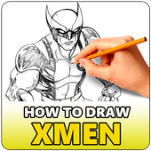 How to Draw XMen Characters icon