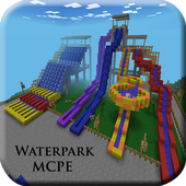 Guide for Waterpark MCPE map icon